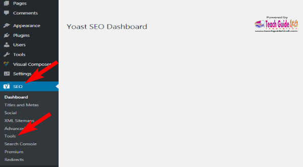Edit .htaccess file using Yoast SEO Plugin