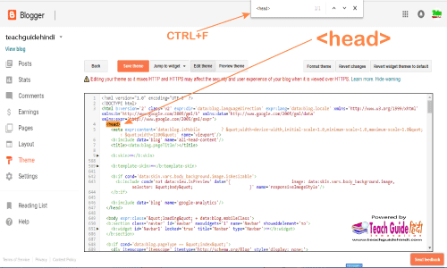 Edit HTML par click kare