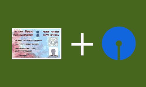 SBI Bank account me PAN Card