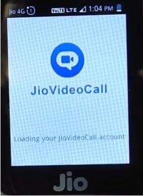 जिओ फोन मे विडियो कॉल